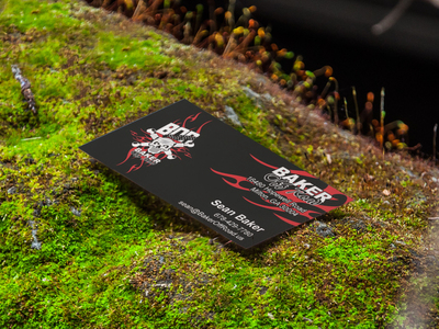 Baker Off Road Business Cards
